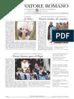 L´OSSERVATORE ROMANO. 12 Agosto 2012