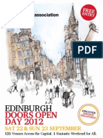 Edinburgh Doors Open Day 2012 Brochure