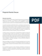 Resumen Puente Chacao