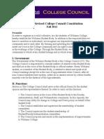 Proposed CC Constitution