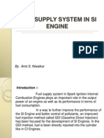Fuel Supply in Si Engine 7