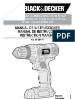 Black&Decker LD108 User Manual