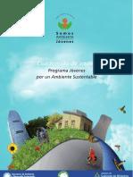 Cuadernillo de Apoyo Programa Jovenes Por Un Ambiente Sustentable
