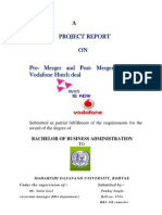 Project on Vodafone
