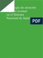 Estrategia de atención al parto normal -  Ministerio de Sanidad y Consumo 2008