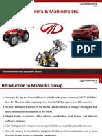 Mahindra Earthmaster - An Introduction