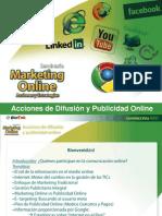 Acciones de Difusion y Publicidad Online