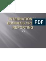International Business Credit Reporting