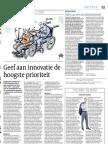 Artikel_Cobouw_Geef Aan Innovatie de Grootste Prioriteit_05!09!2012