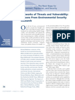 Networks of Threat and Vulnerability