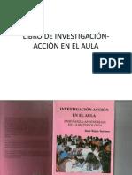 LIBRO DE INVESTIGACIÓN- ACCIÓN EN EL AULA