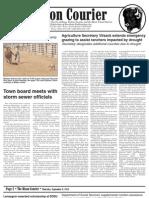 Bison Courier, September 6, 2012