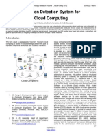 Intrusion Detection System for Cloud Computing