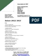 Infos Rentree Danse 2012 2013