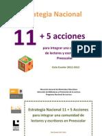 11+5 preescolar 2012-2013