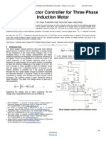 Hysteresis Vector Controller for Three Phase Induction Motor