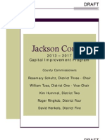 Jackson County 2013-2017 DRAFT Capital Improvement Program