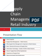 Supply Chain Managment - Indian Retail Industry