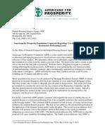 AFPF FHFA 2012 0020 Eminent Domain