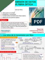 Transmision de Datos Por Fibra Optica