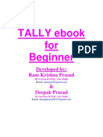 Tally eBook for Beginner