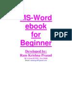 MS Word eBook for Beginner