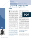 Minerals, Forests, and Violent Conflict in the Democratic Republic of the Congo
