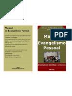 Manual de Evangelismo Pessoal - Capas Coloridas