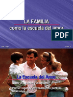 La Familia Como La Escuela Del Amor
