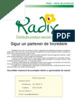 Oferta Radix