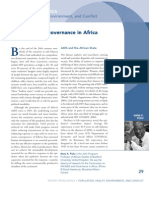 HIV/AIDS and Governance in Africa