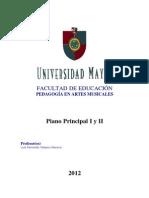 Instrumento Principal I y II - Luis Velasco