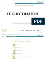 Fiche - Le photomaton