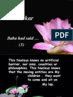 Baba Had Said (3)