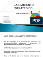 PLANTEAMIENTO ESTRATEGICO _Exposicion