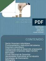 Esquema Bancario Para Operaciones Industriales en colombia