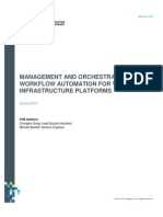 Vce Management Orchestration Workflow Automation