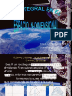 La Integral en El Espacio1