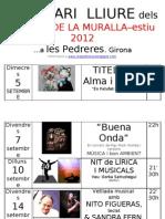 ESCENARI Lliure -Jardins de La Muralla- Setembre 2012-1
