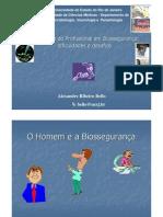 Formação do Profissional em Biossegurança dificuldades e desafios