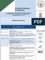 Pejovich Conference Agenda Preliminary 240712