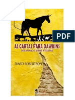 As Cartas Para Dawkins - David Robertson