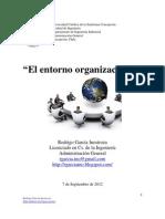 El entorno organizacional. Rodrigo García