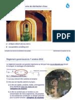 Conception Des Reservoires de Distribution d'Eau