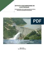 ICE Plan de Expansión Eléctrica 2012-2024