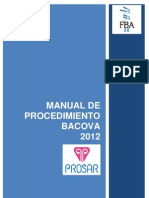 2012 Manual Procedimiento BACOVA