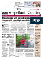 Ypsilanti Courier Front Page Sept. 6, 2012