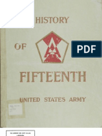 WWII 15th Army History