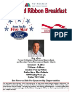 2012 Red Ribbon Breakfast Sponsorship Form