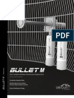 Access Point Outdoor Ubiquiti Bullet M5 Hp 630 Mw Conector N Macho